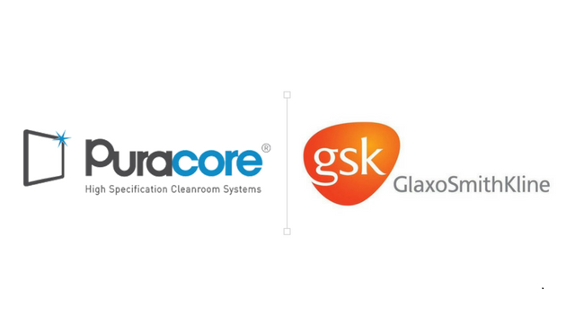 Puracore and GSK logos