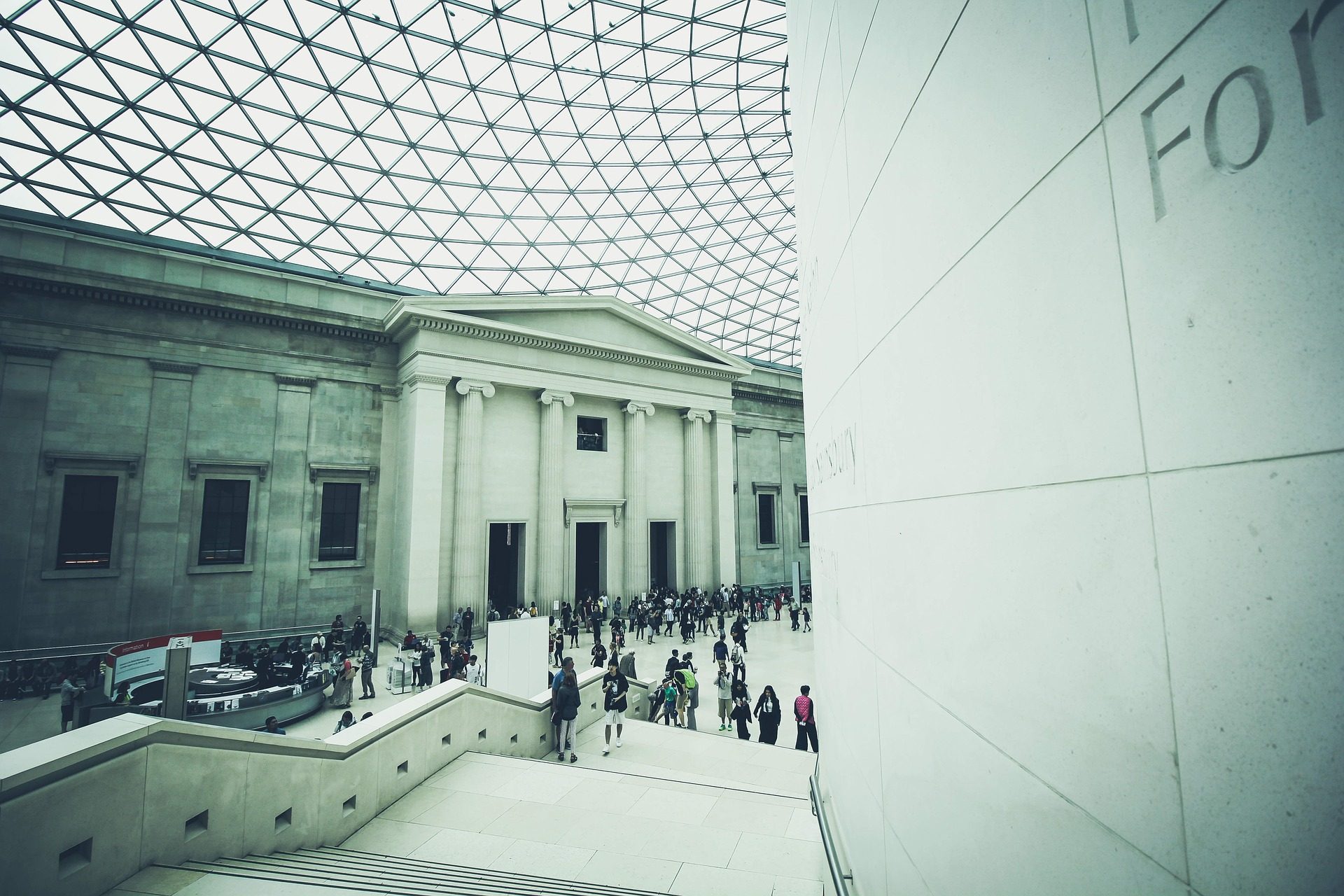 Great Court at British Museum