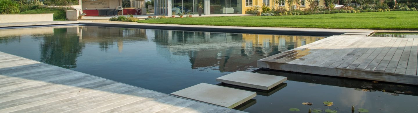 Insulated Pool Panels for Clear Water Revival Installation. Designed by Austin Design Works